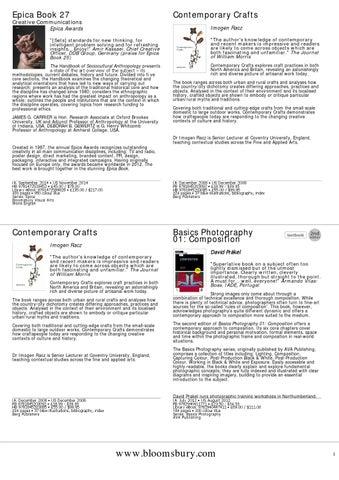 16b121ef75e VISUAL ART BOOKS by DESIGN BOOK STUDIO - issuu