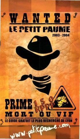 ab39360289910 Le Petit Paumé - Edition 2003/2004 - City-Guide de Lyon by Le Petit ...