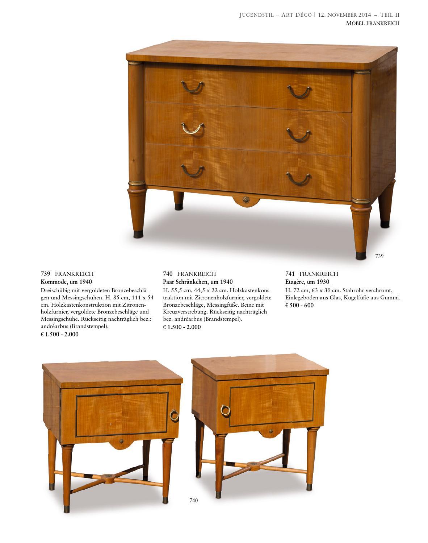 Auction 117a Art Nouveau Art Deco Quittenbaum Art Auctions By