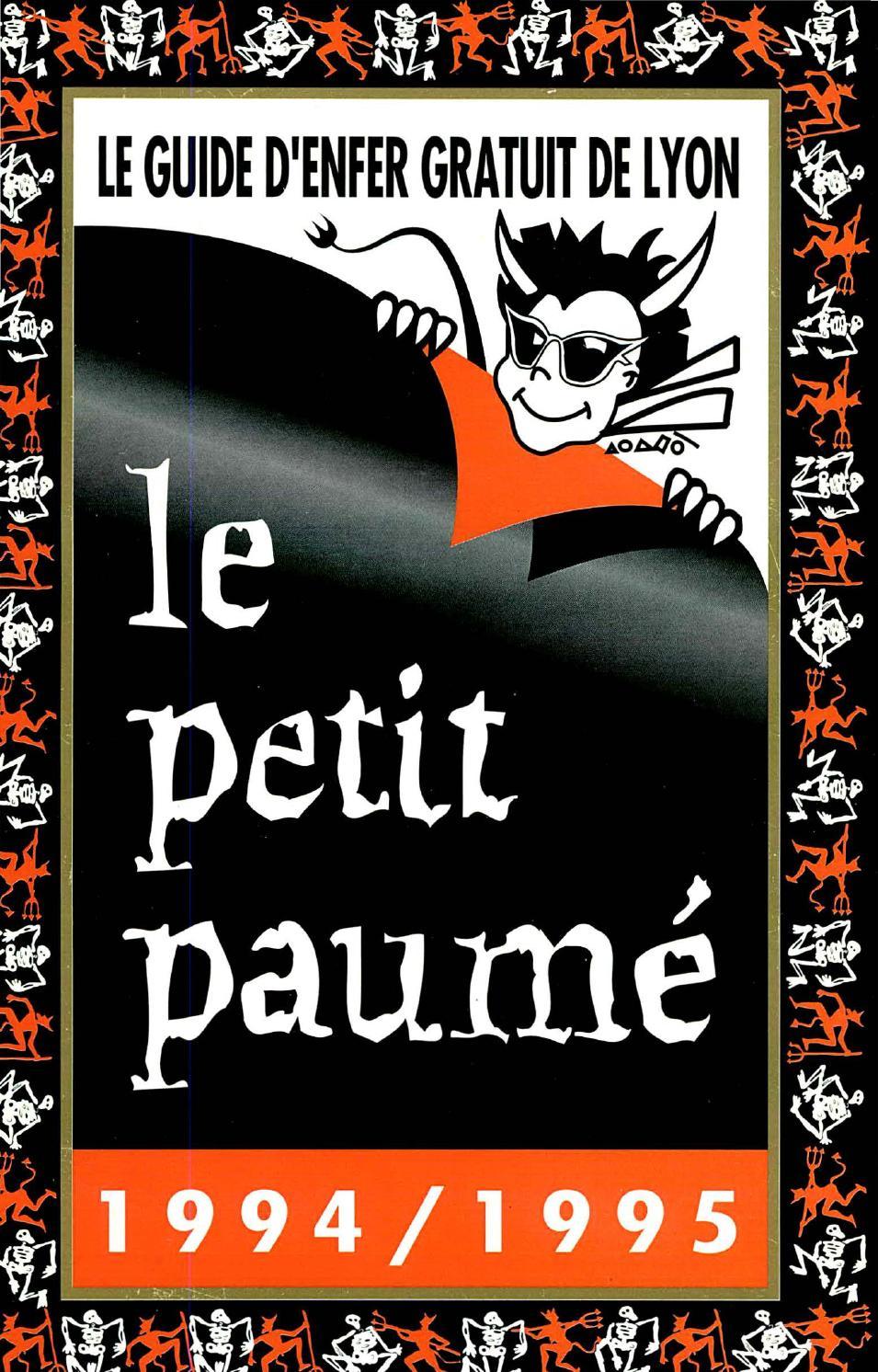 fa638ad1562f Le Petit Paumé - Edition 1994 1995 - City-Guide de Lyon by Le Petit Paumé -  issuu