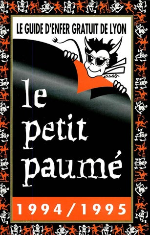 ec39df20ef078c Le Petit Paumé - Edition 1994 1995 - City-Guide de Lyon by Le Petit ...