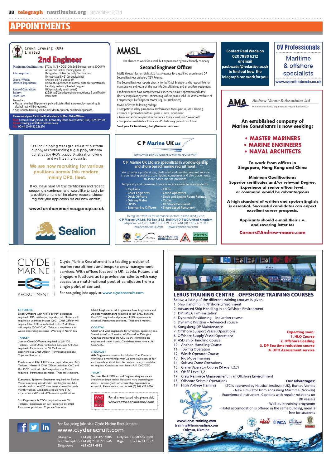 Nautilus Telegraph November 2014 by Redactive Media Group - issuu