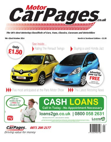 The UKu0027s Best Motoring Classifieds Of Cars, Vans, Classics, Caravans And  Motorbikes 9th  22nd October 2014