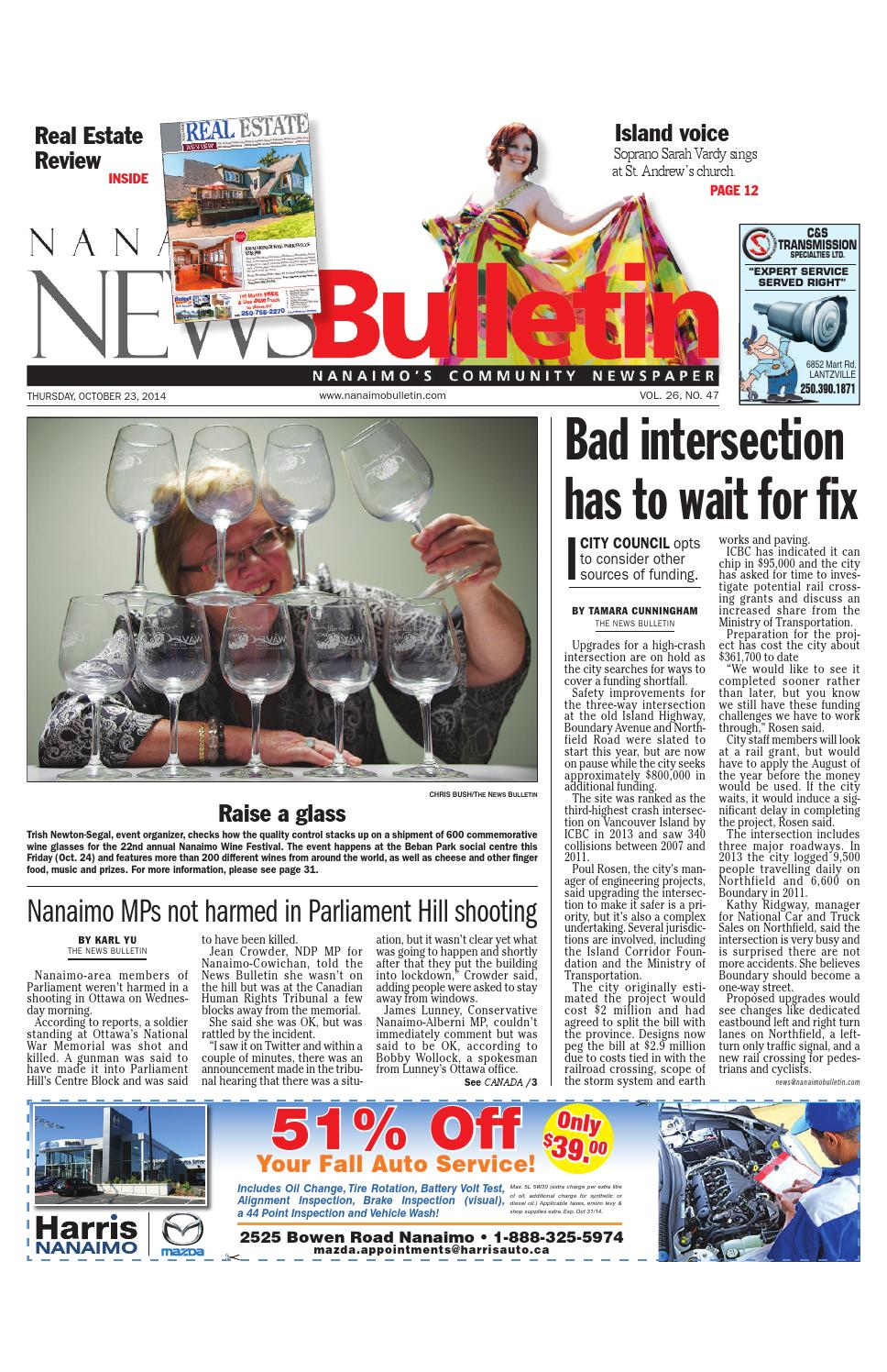 Bathmaster Nanaimo nanaimo news bulletin, october 23, 2014black press - issuu