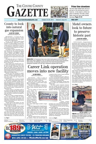 10 23 14 Centre County Gazette By