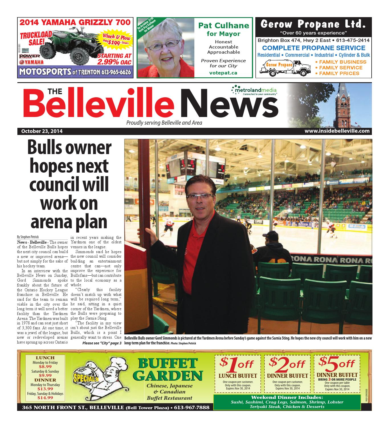 32b6766b3c767 Belleville102314 by Metroland East - Belleville News - issuu