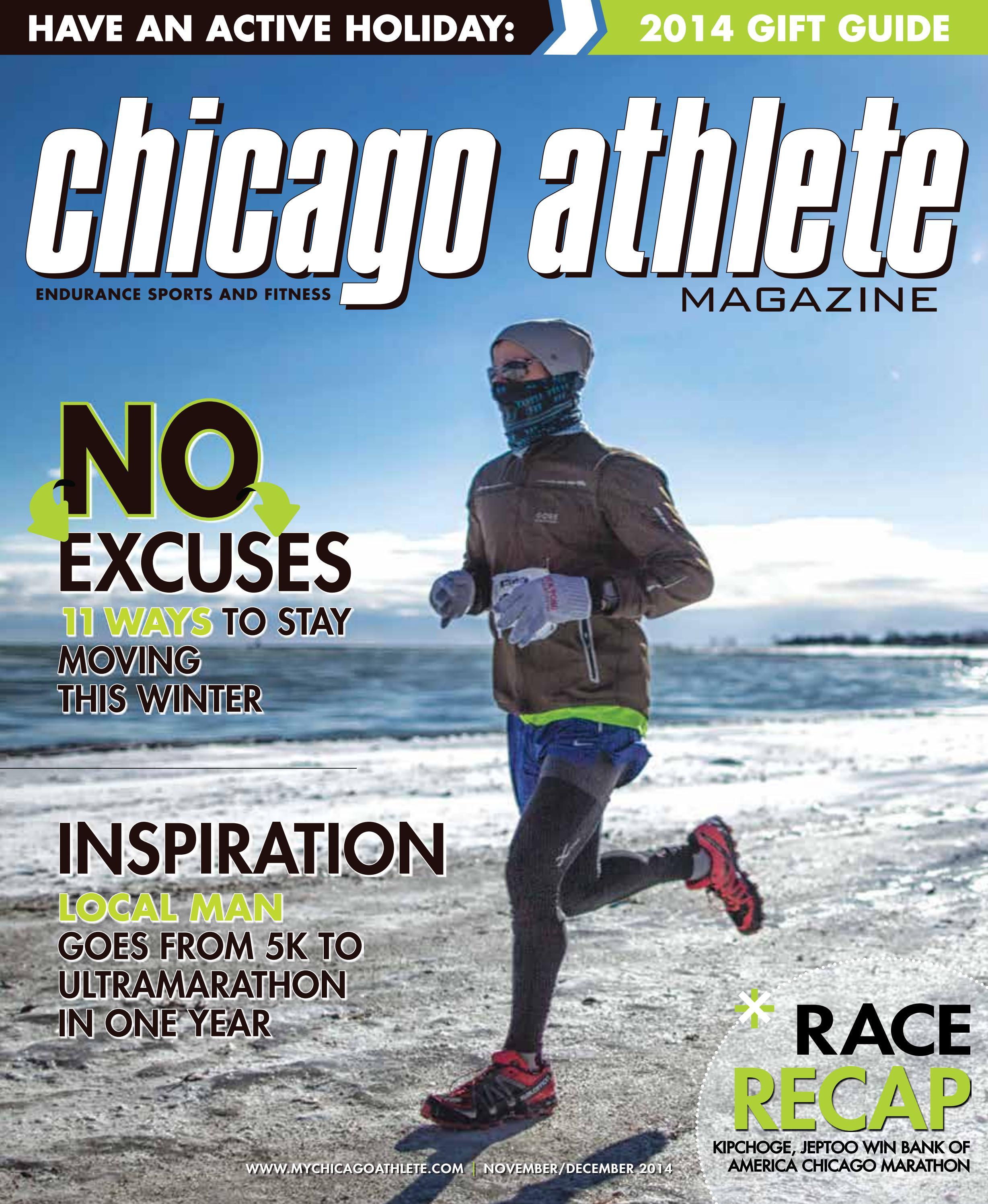 Chicago Athlete Magazine November/December 2014 Issue by