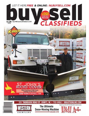 Current Until October 31 2014 Issue 908 CopyrightC The Newfoundland Buy Sell Magazine Inc