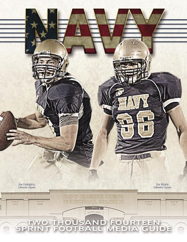2018 Football Guide by Naval Academy Athletic Association - issuu 9ff5d9e9c