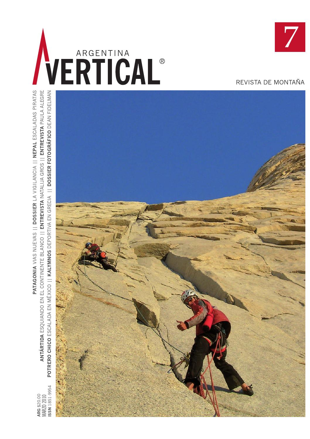 1aea63bcb Vertical #7 Completa Digital by Vertical Argentina - Revista de Montaña -  issuu