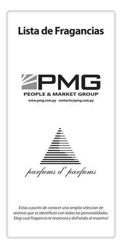 Parfums Catalogo De Fragancias 2014 By People Market Group