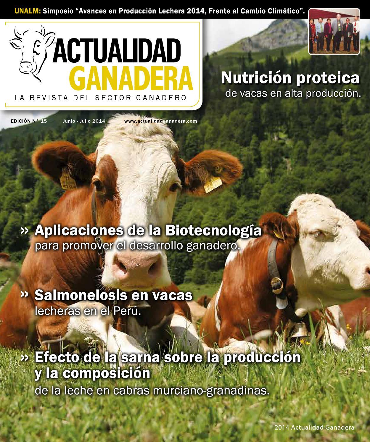 Revista Actualidad Ganadera Edicion 15 By Actualidad Ganadera Issuu