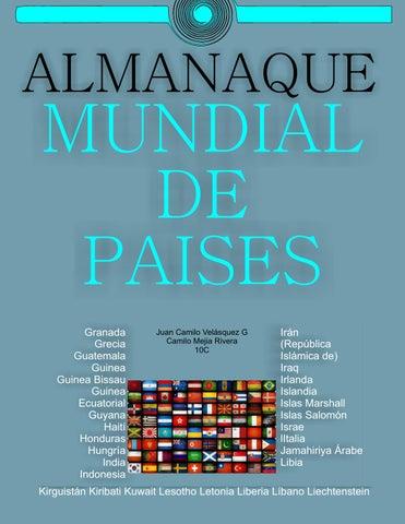 Almanaque mundial de paises by juan camilo velasquez issuu almanaque fandeluxe Images