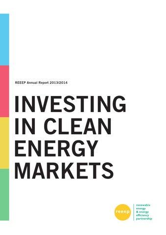 REEEP Annual Report 2013/2014 by REEEP - issuu