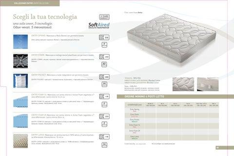 Compagnia della notte - catalogo materassi 2012 by Grazia Mobili ...