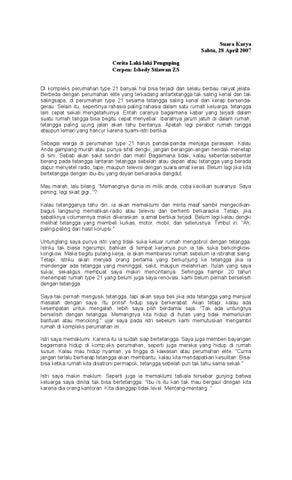 cerita laki laki penguping isbedy stiawan zs by arvinoor s issuu