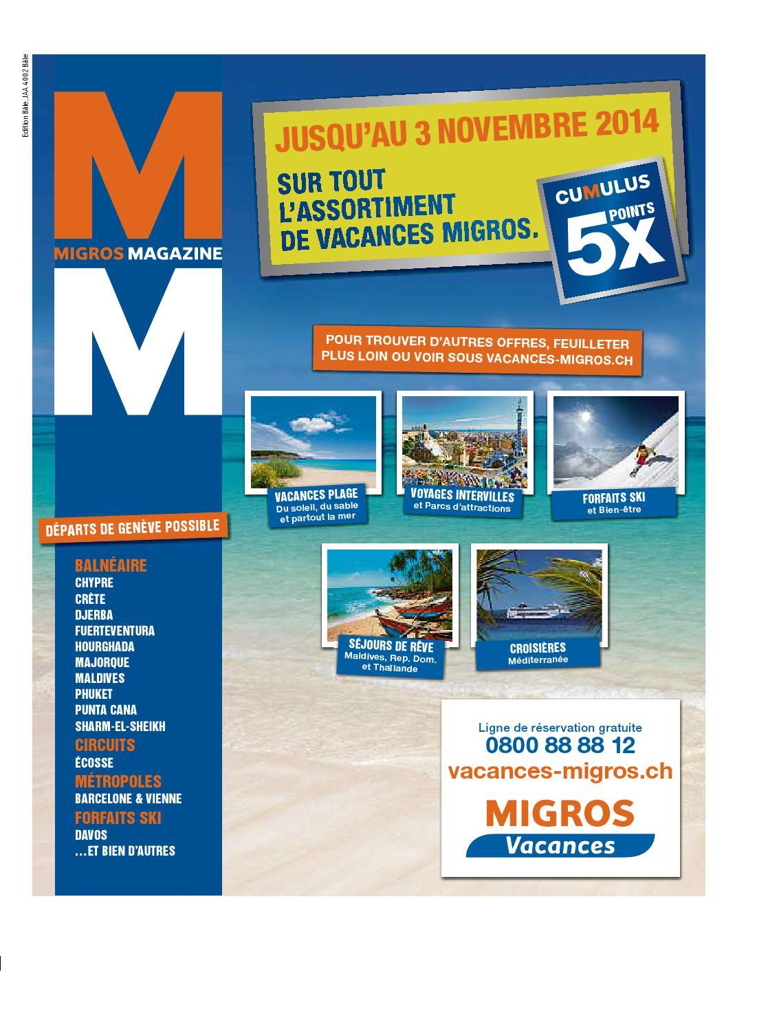 Migros magazin 44 2014 f bl by Migros Genossenschafts Bund