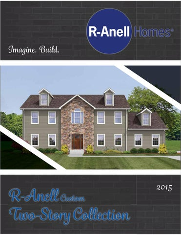 R Anell Homes 2 Story 2015 By The Commodore Corporation Issuu