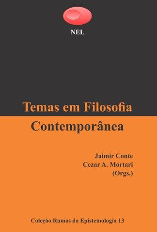 Temas em filosofia contempornea by filosofia ufsc publicaes issuu page 1 fandeluxe Image collections