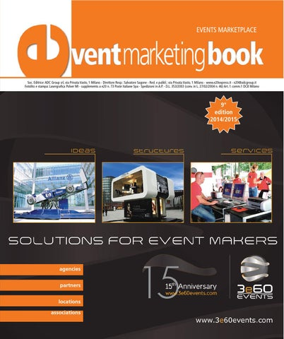 Event Marketing Book 2014 by ADC Group issuu