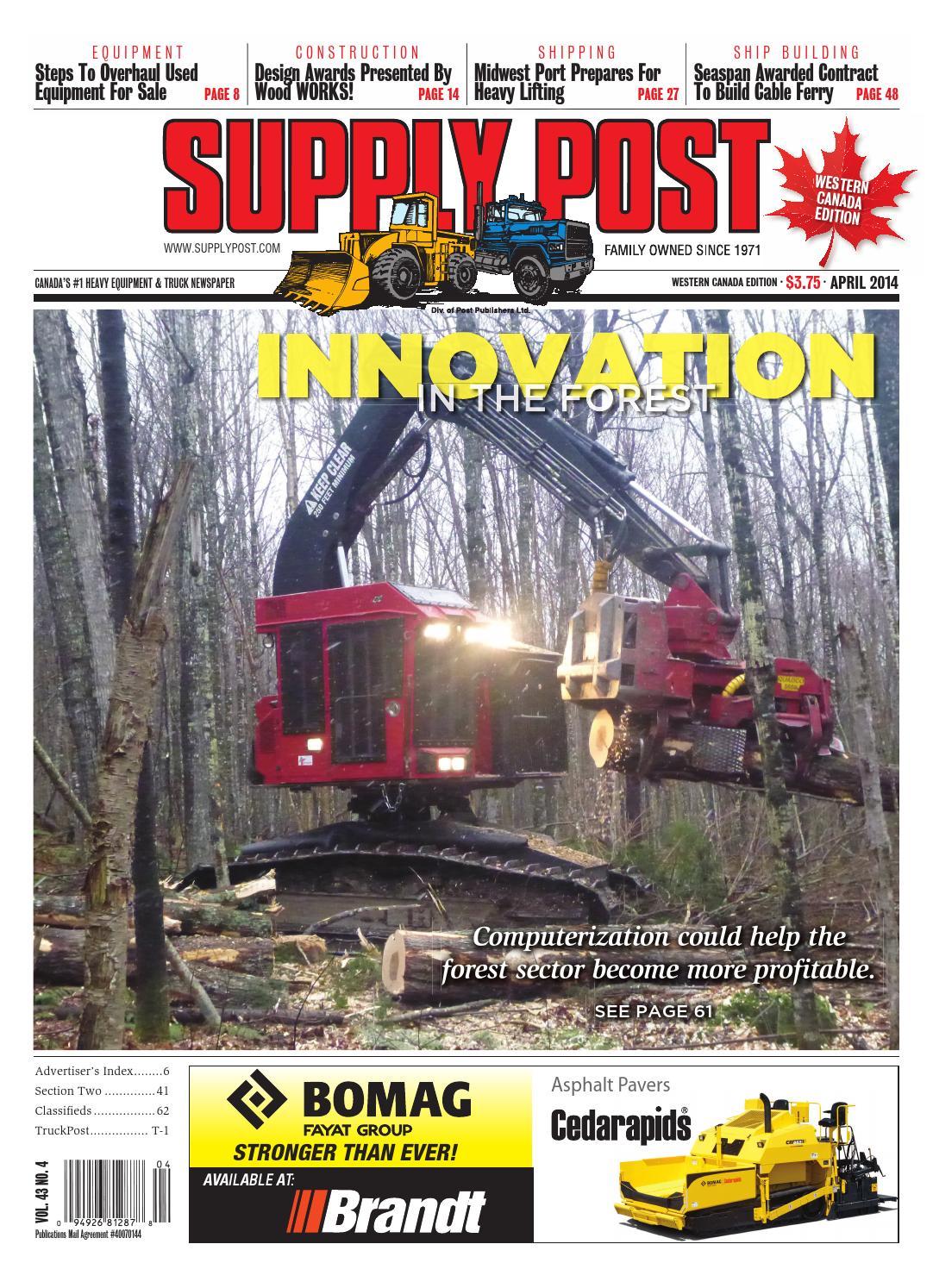 Supply Post West April 2014 By Newspaper Issuu Kenworth K300 Fuse Box