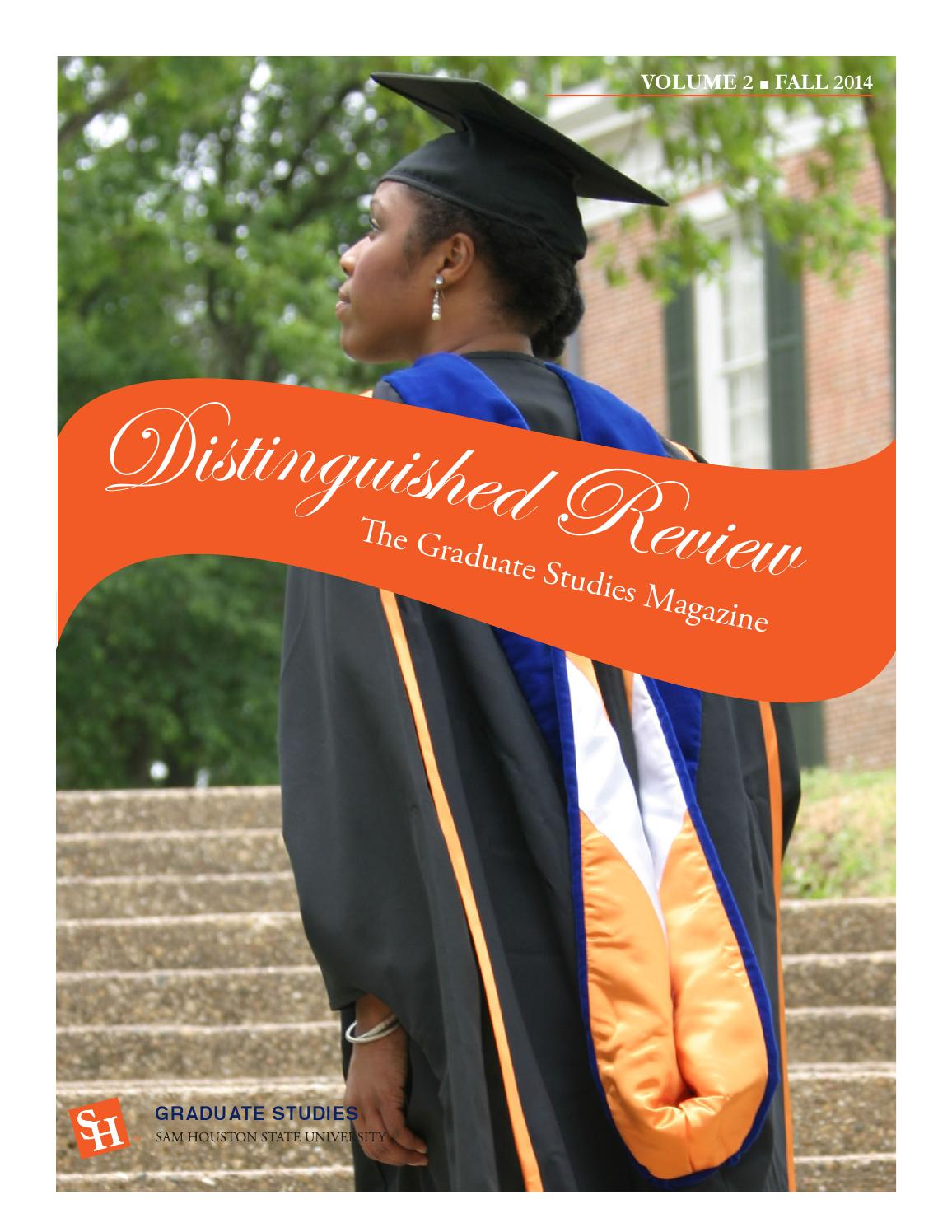 Graduate Studies Magazine-Sam Houston State University by SHSU ...