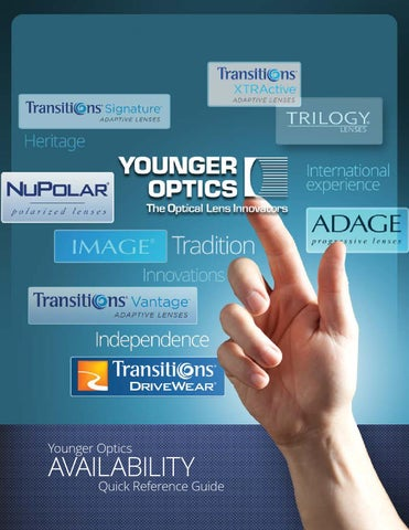 ecd8736403e Younger Optics Availability Guide by AHMingus - issuu