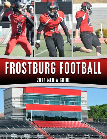 52041465e 2014 Frostburg State Football Media Guide by Frostburg State ...