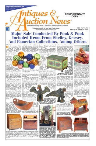 Antiques U0026 Auction News 103114 By Antiques U0026 Auction News   Issuu
