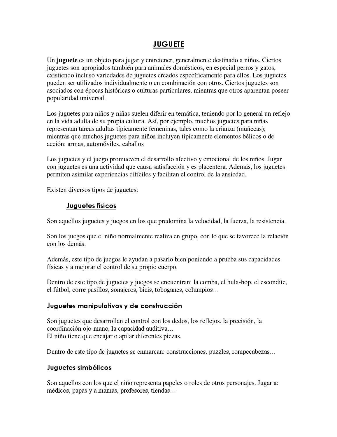 Issuu Juguete Juguete By Issuu Celiaramirez By Celiaramirez Celiaramirez Juguete Issuu By Juguete Celiaramirez By FKJ1c3lT