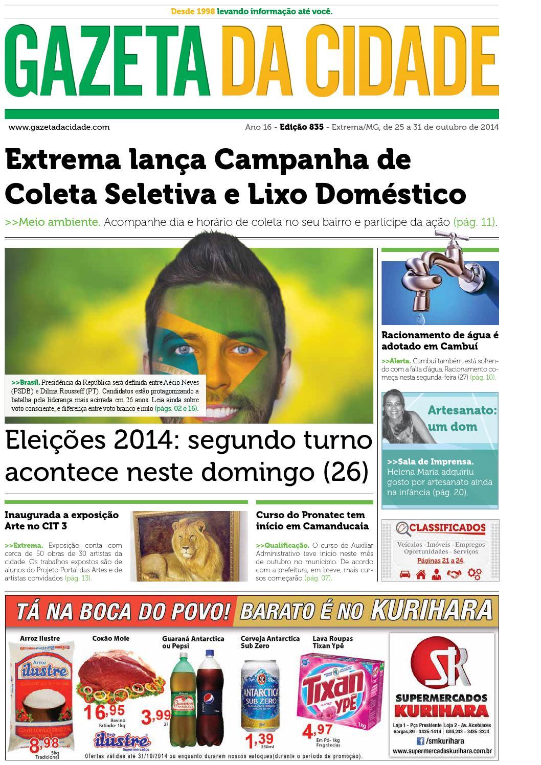 Ed 835 by Gazeta da Cidade - issuu 4eb0505273230