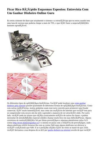 como ficar rico online rápido vale a pena investir us € 20 em bitcoin