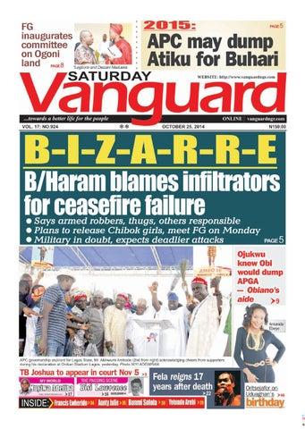 86ebae440b9d1a B/Haram blames infiltrators for ceasefire failure by Vanguard Media ...