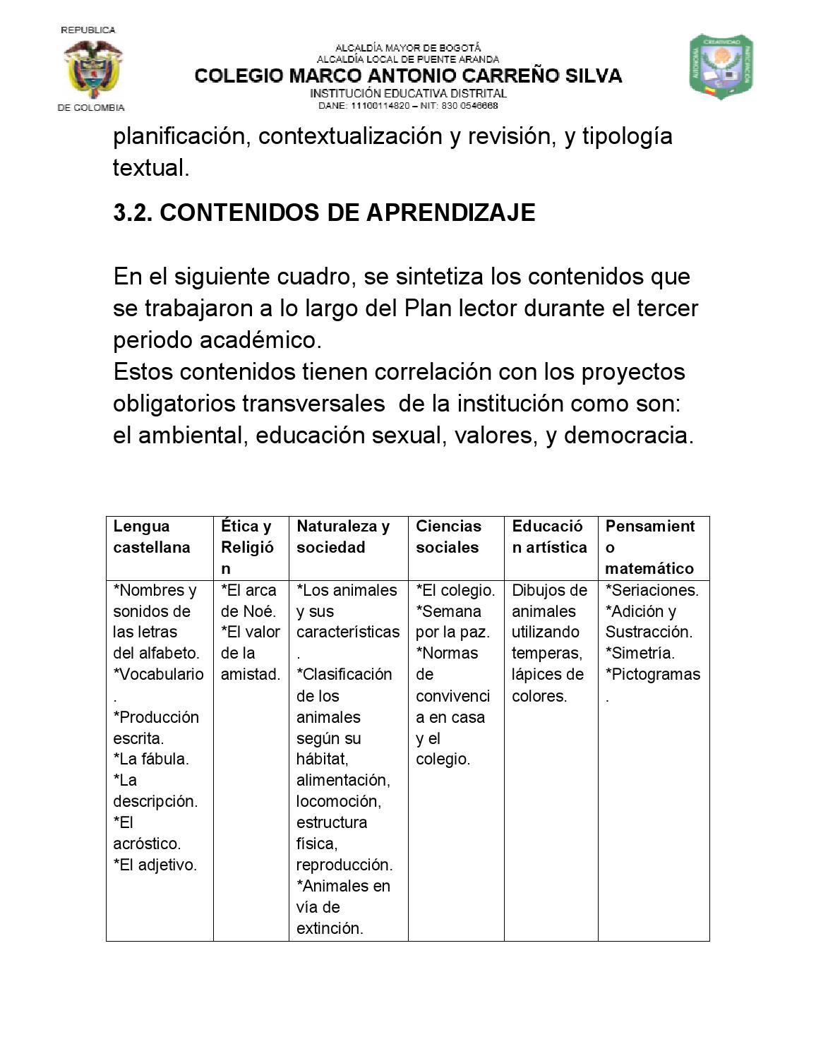 Plan lector MAC by ILEO sed unal - issuu