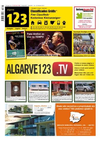 Algarve 123 previous edition edio anterior by ltd tourvision page 1 fandeluxe Choice Image