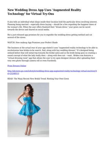 try on wedding dresses online virtual
