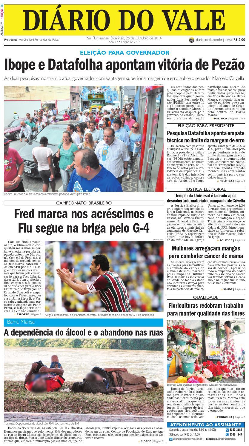 7468 diario domingo 26 10 2014 by Diário do Vale - issuu 0c7649a3084