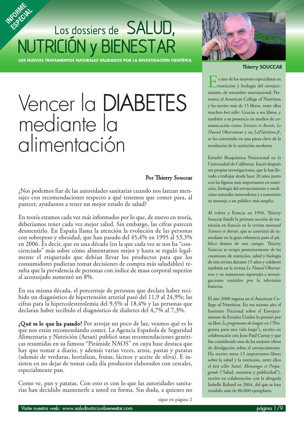 diabetes no gracias libro