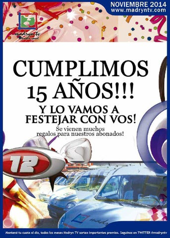 Madryn digital noviembre 2014 by Real TV - issuu