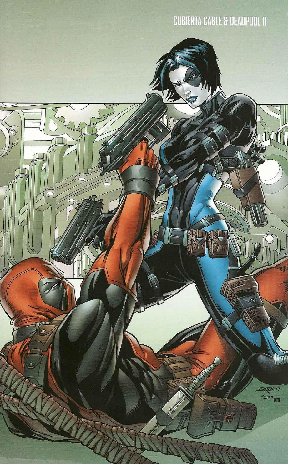 Cable Amp Deadpool 11 By Eunice Rivera Issuu