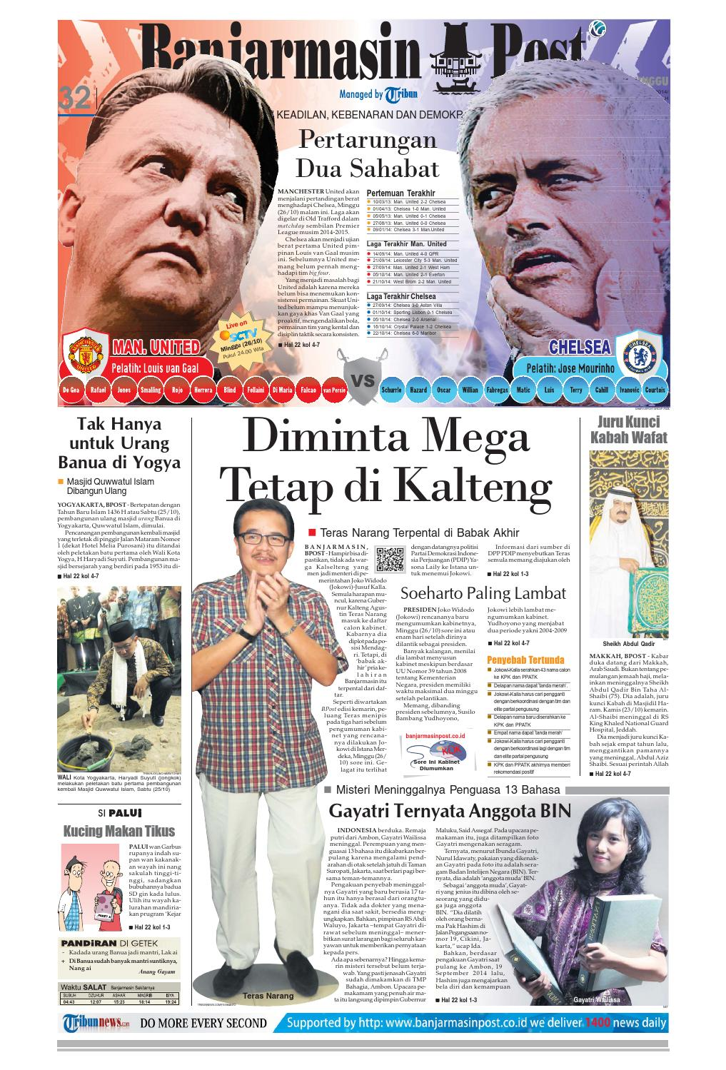 Banjarmasin Post Minggu 26 Oktober 2014 By Issuu Produk Ukm Bumn Tenun Pagatan Atasan Wanita 4