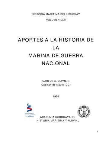 Aportes a la historia de la marina de guerra nacional ROU by ... be71279f99d