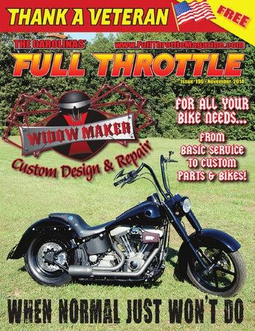 57e09b8aa59b November 2014 - issue # 196 by The Carolinas' Full Throttle Magazine ...