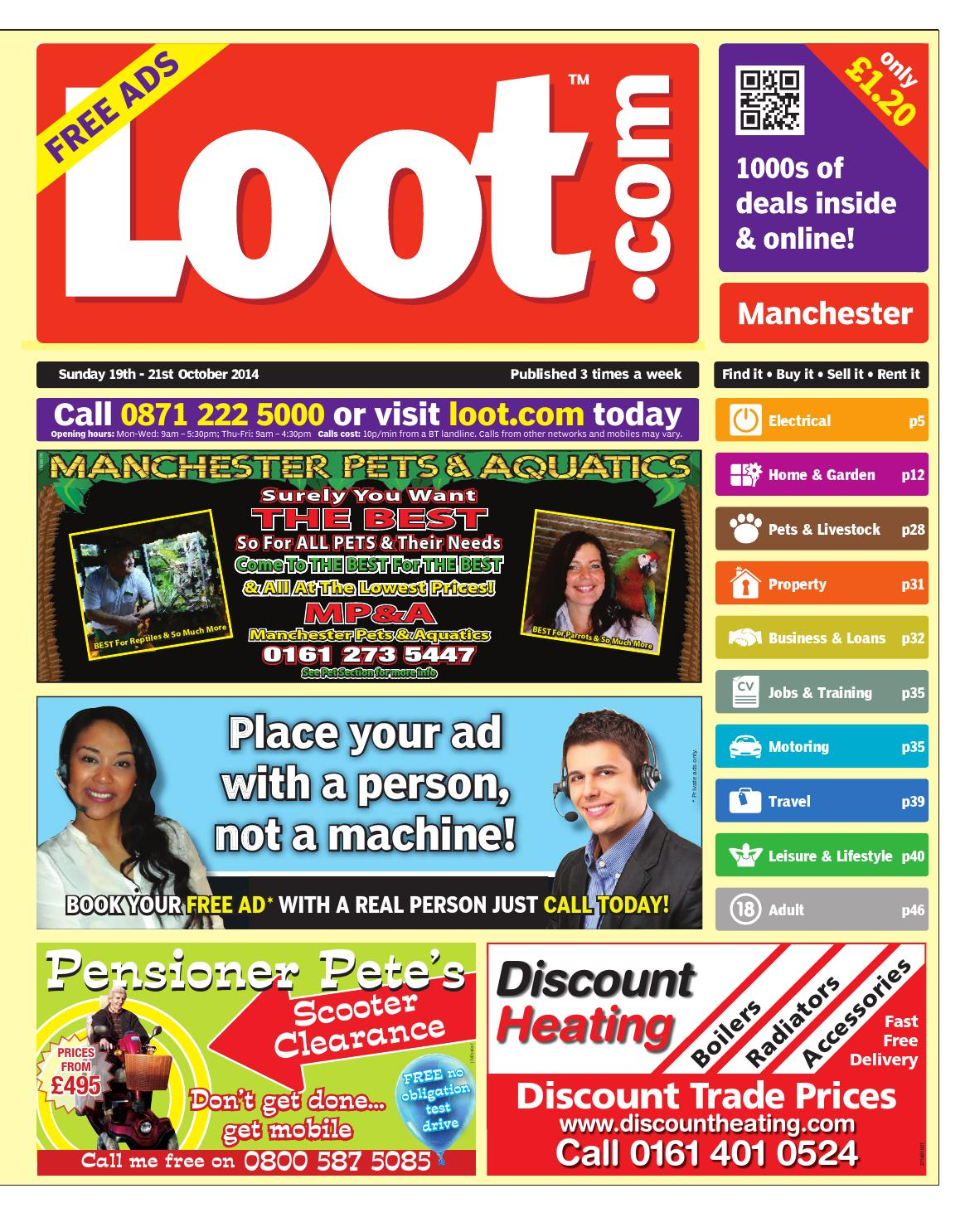 9898d5118ff Loot Manchester 19th October 2014 by Loot - issuu