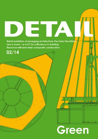 DETAIL Green English Edition November 2014 by DETAIL - issuu