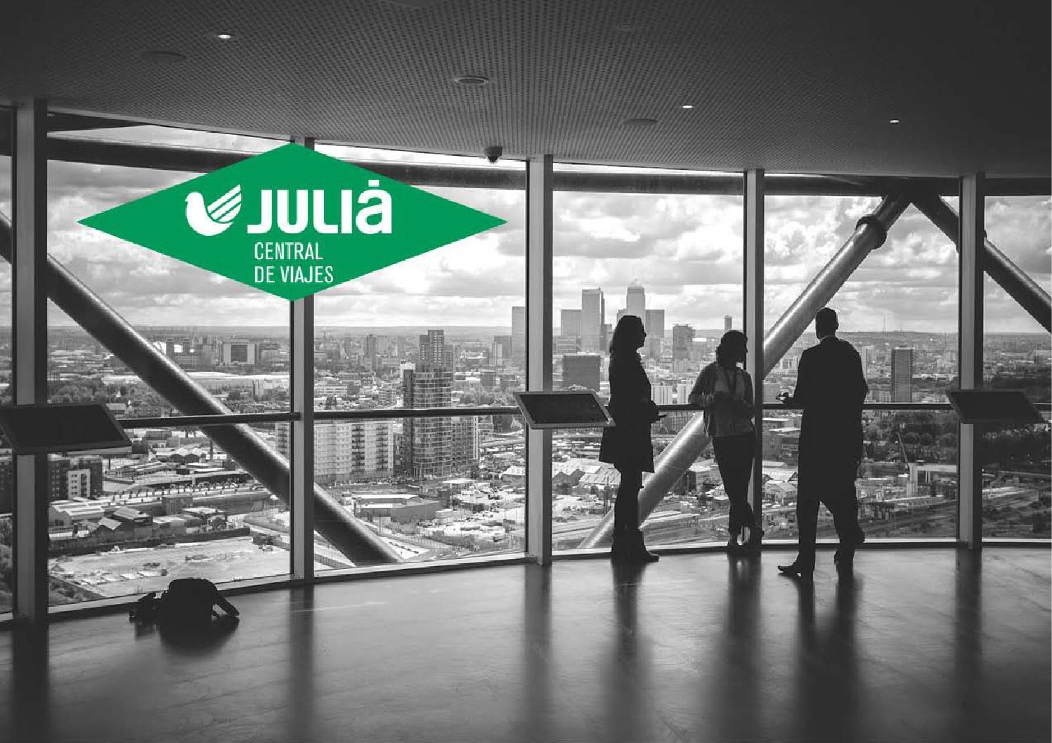 Presentaci n julia central de viajes by juli central de for Booking barcelona oficinas