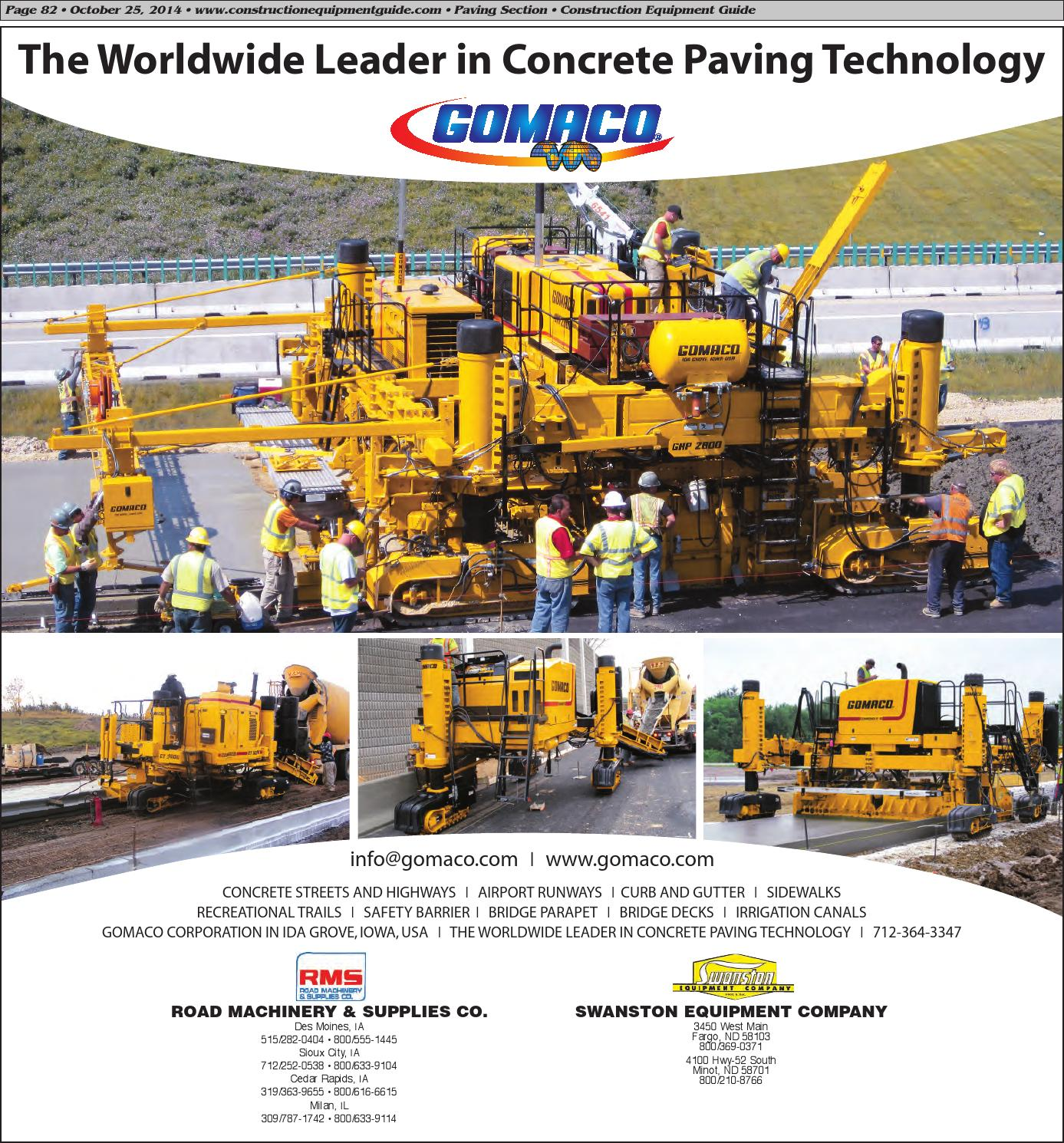 Midwest 22 2014 By Construction Equipment Guide Issuu