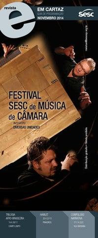 Revista Em Cartaz Novembro 2014 by Sesc em São Paulo - issuu 78826862cb