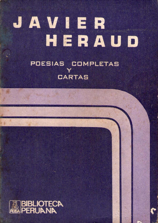 61994985 poesias completas y cartas javier heraud 1961 1963 by ...