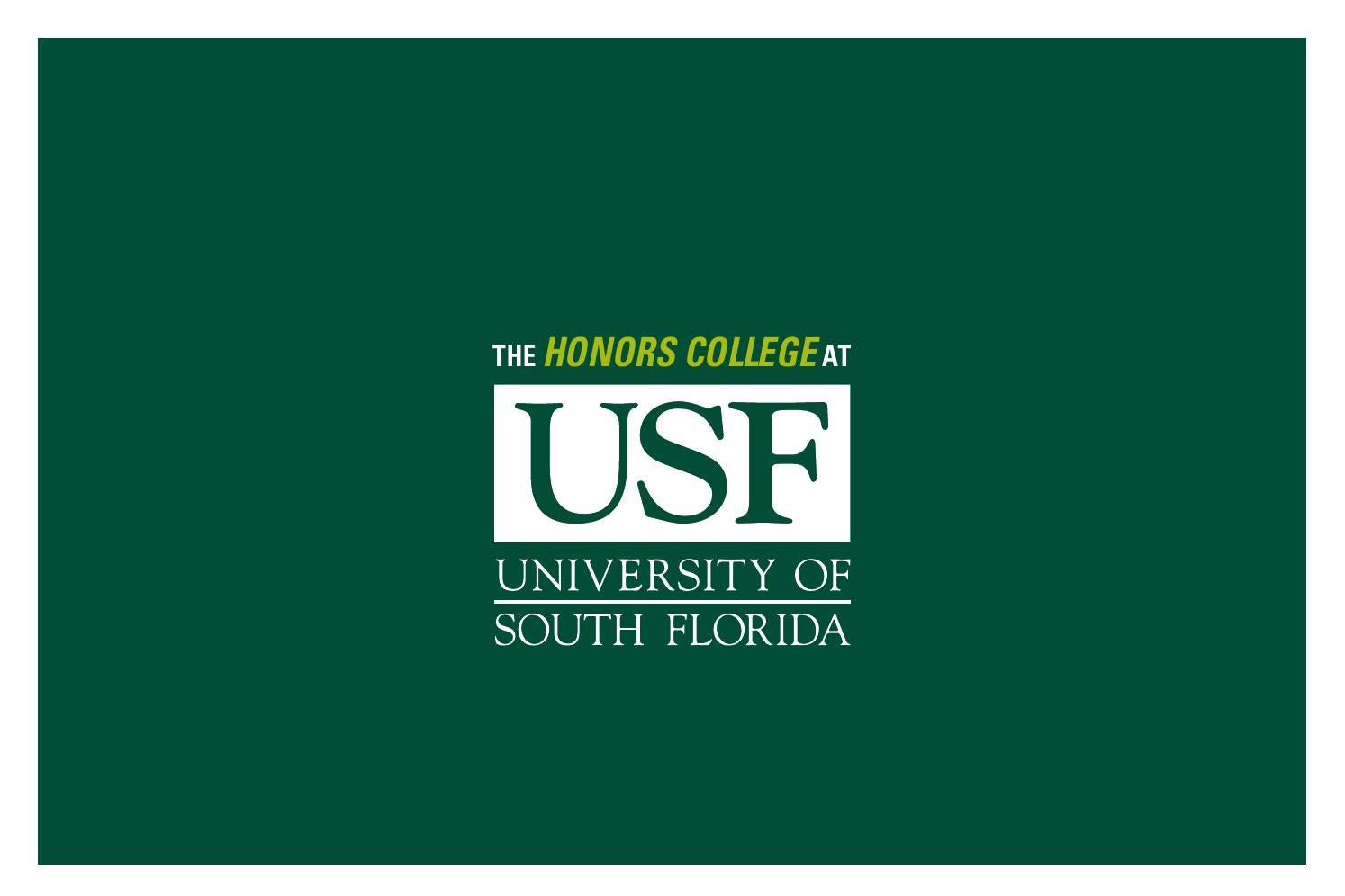 usf honors thesis permit